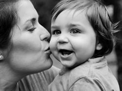 Portrait Photography, mum and child