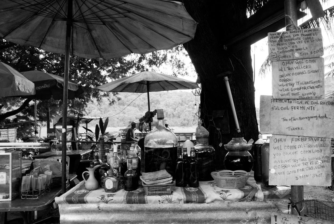 Laos, street market