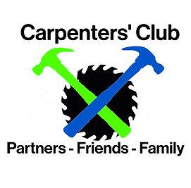Carpenters' Club Logo Habitat Font Flat.