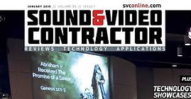 Commercial Sound and Video's article in Sound and Video Contractor Magazine