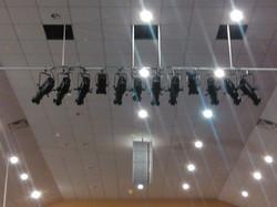 Elation LED stage lights