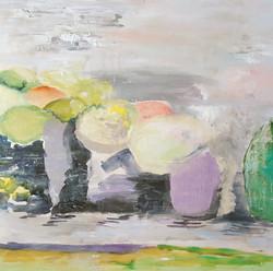 landscape, 14 x 14