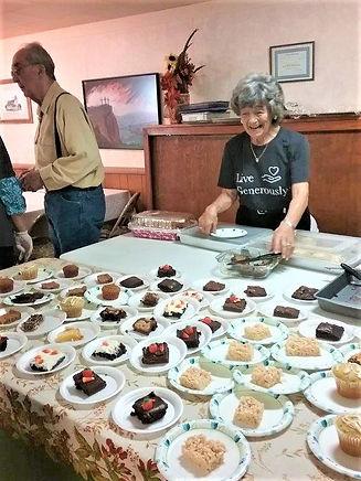 2021 Fall Dinner Desserts