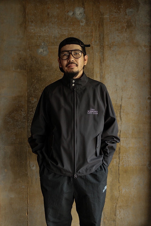 THE WEEKEND CITY CLUB Nylon Wee-Tex Blouson