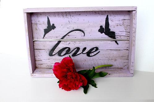 """Deko-Box """"LOVE"""""""