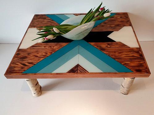 Intarsien Tisch Epoxy
