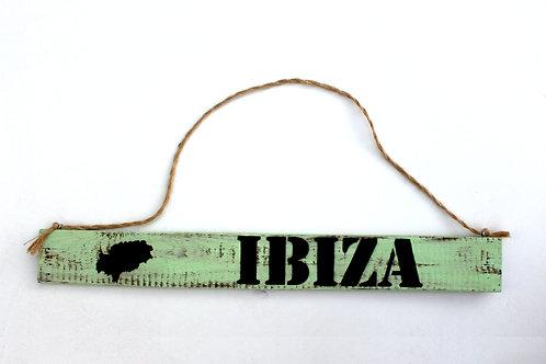 """Deko-Schild """"IBIZA"""""""
