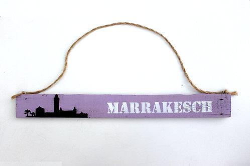 "Deko-Schild ""MARRAKESCH"""