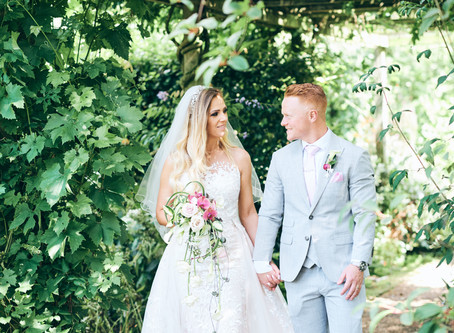 Marianna + Ben |   Bringing traditions together for a stylish blush wedding