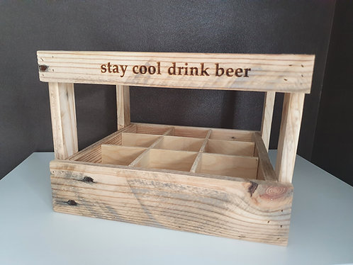 stay cool drink beer Bierkiste