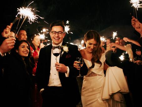 Ginny + Thomas // Festive Winter Wedding