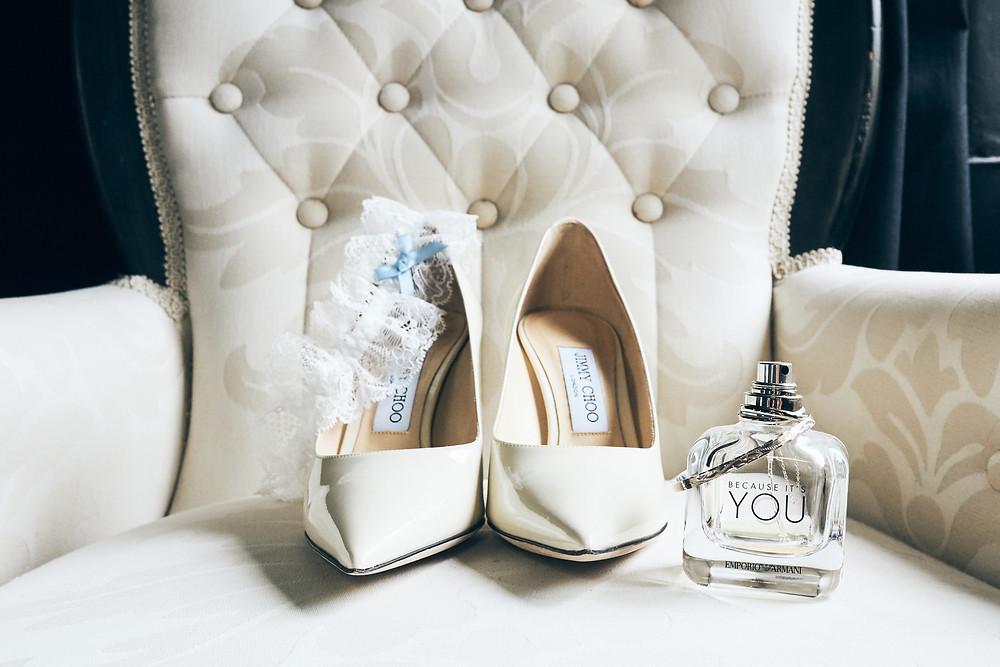 Marianna + Ben | Amanda Forman Photography | Jimmy Choo's. Bridal Details