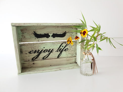 "Deko-Box ""ENJOY LIFE"""
