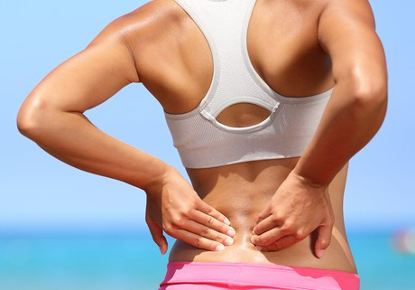 What should you do with back pain?