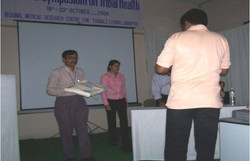ICMR 2006-1st award for tribal research paper