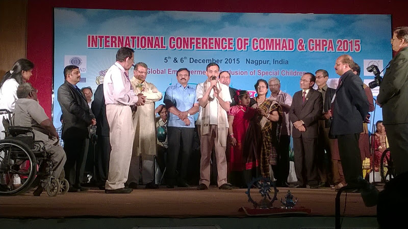 Dr. Ashish at 'Internation Conference of COMHAD & CHPA 2015