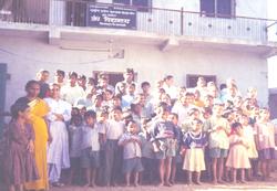 School Children eye check up