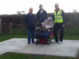 Rotary Club of Lewes assists local resident Bren Bonner