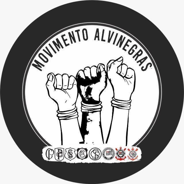 Símbolo do Movimento Alvinegras (FOTO: Reprodução/ Facebook - Movimento Alvinegras)