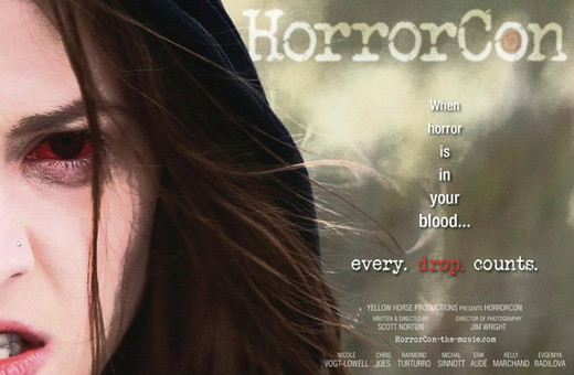 Movie Poster for HORRORCON, starring Nicole Vogt-Lowell