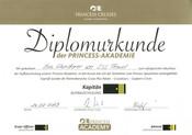 Princess Cruises Diplom
