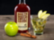 Cocktail drink recipe, Sweet Apple Pie, with North Dakota Sweet Crude