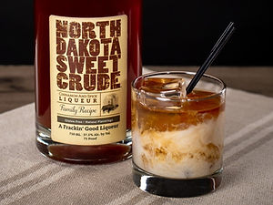 North Dakota Sweet Crude cocktail drink recipe, Dirty Elephant