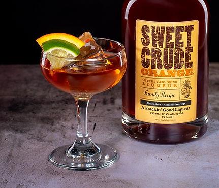North Dakota Sweet Crude & Sweet Crude Orange cocktail drink recipe, Bonzai