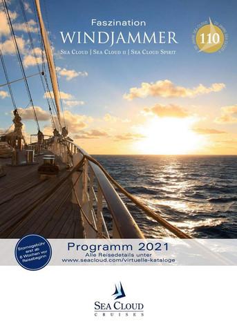 SEA CLOUD SPIRIT Katalog 2021