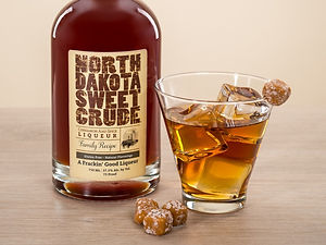 Cocktail drink recipe, Blowout, with North Dakota Sweet Crude
