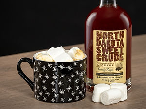 Warm cocktail drink recipes with North Dakota Sweet Crude