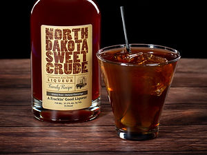 North Dakota Sweet Crude cocktail drink recipe, Roughrider