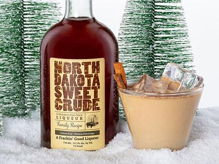 North Dakota Sweet Crude cocktail drink recipe, Crude Cow