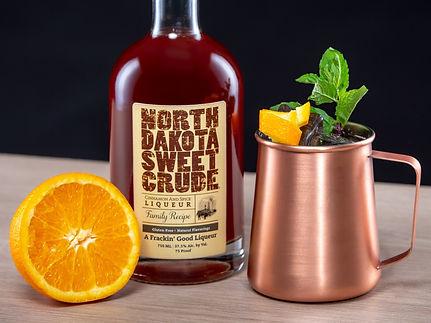 North Dakota Sweet Crude cocktail drink recipe, Dakota Mule