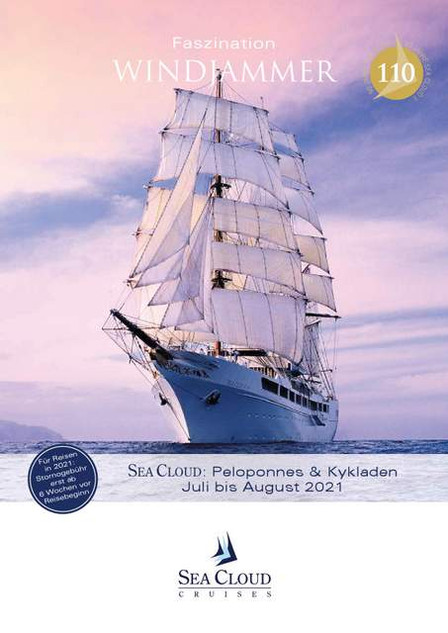 SEA CLOUD Katalog Juli-August 2021