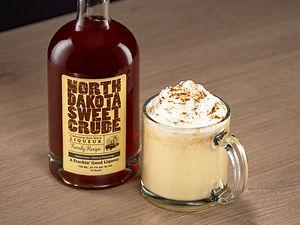 Cocktail drink recipe, Dakota Nog, with North Dakota Sweet Crude