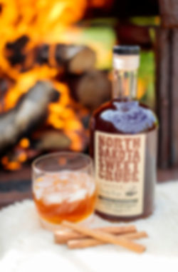 North Dakota Sweet Crude, a sweet smooth cinnamon whiskey liqueur from Crude Spirits