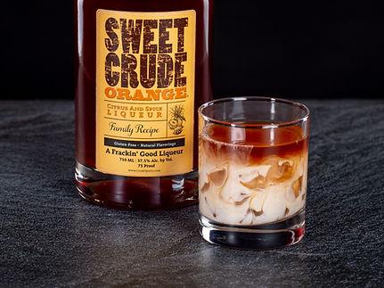 Sweet Crude Orange cocktail drink recipe, Orange Creamcicle