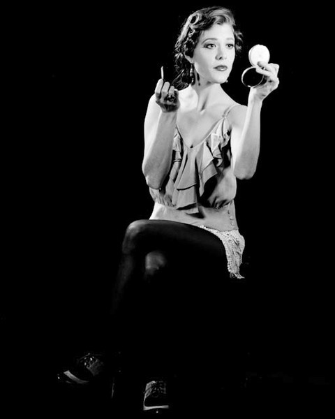 Nicole Vogt-Lowell in 1920's-inspired photo shoot