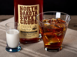 North Dakota Sweet Crude cocktail drink recipe, White German