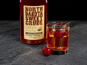 North Dakota Sweet Crude cocktail drink recipe, Oil Fashioned