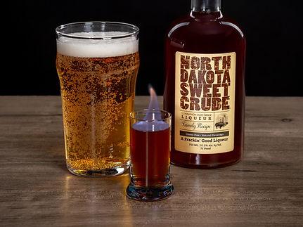 North Dakota Sweet Crude cocktail drink recipe, The Elbow Drop