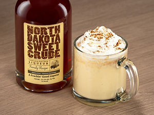 North Dakota Sweet Crude cocktail drink recipe, Dakota Nog