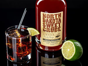 North Dakota Sweet Crude cocktail drink recipe, Hardhat