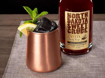 North Dakota Sweet Crude cocktail drink recipe, Dakota Mule Sombrero