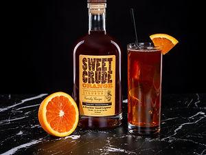 Sweet Crude Orange cocktail drink recipe, Orange Soda