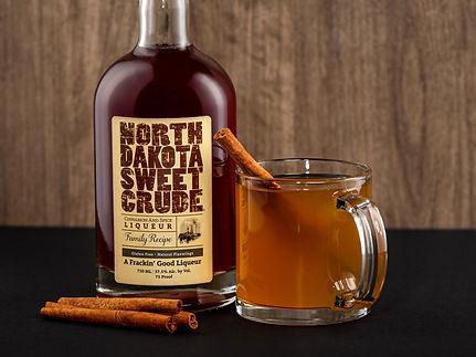 North Dakota Sweet Crude cocktail drink recipe, Dakota Hot Apple Pie