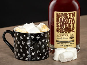 Warm drink recipes made with North Dakota Sweet Crude