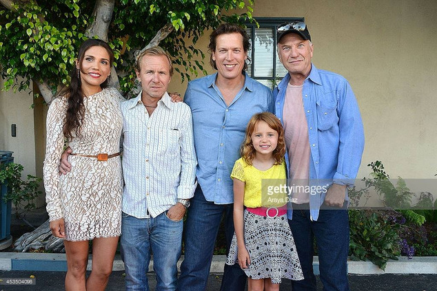 Actor/ producer, Thomas Hildreth with co-star Ted Levine at film festival screening for Child of Grace