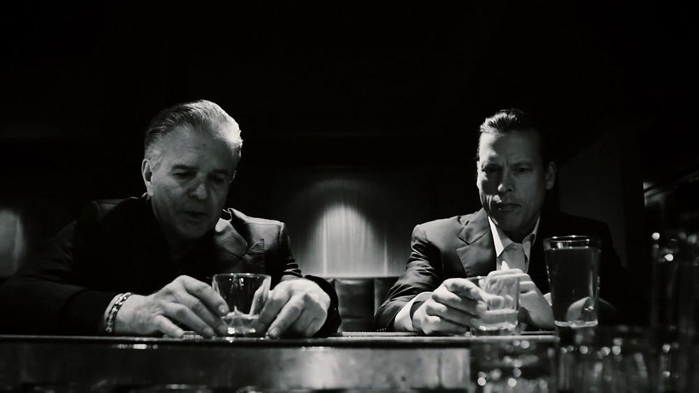 Production still from The Kinjiku, film from executive producer Mark Harris (CRASH), starring actor/ producer Thomas Hildreth, Ron Canada, and Tony Denison.